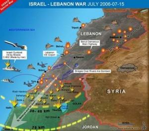 حرب تموز 2006 - هجوم جيش الاحتلال الاسرائيي على لبنان