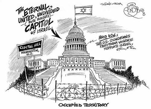 سيطرة اللوبي الصهيوني (وعلى رأسه منظمة الأيباك) على الكونغرس