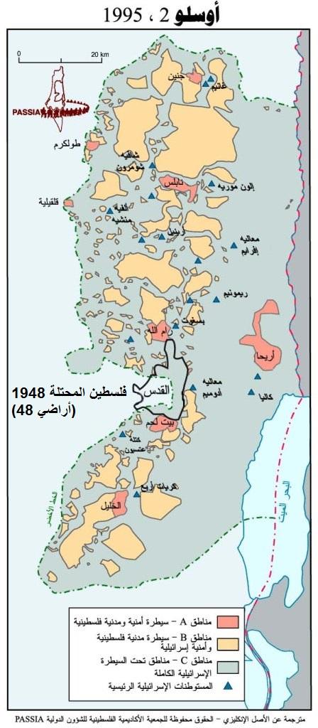 الضفة الغربية 1995