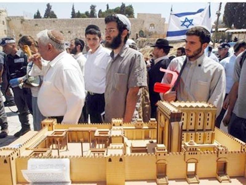 نموذج مصغر من الهيكل حسب التوراة المتداولة بين اليهود