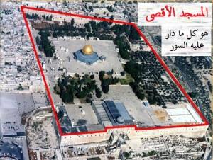 حدود المسجد الأقصى