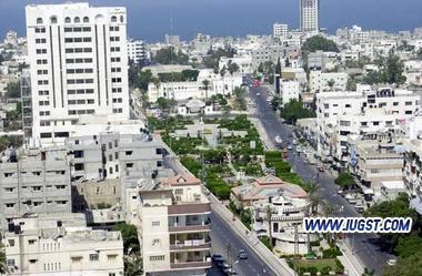 مدينة غزة أكبر مدينة فلسطينية من حيث السكان وثاني أكبر مدينة فلسطينية من حيث المساحة