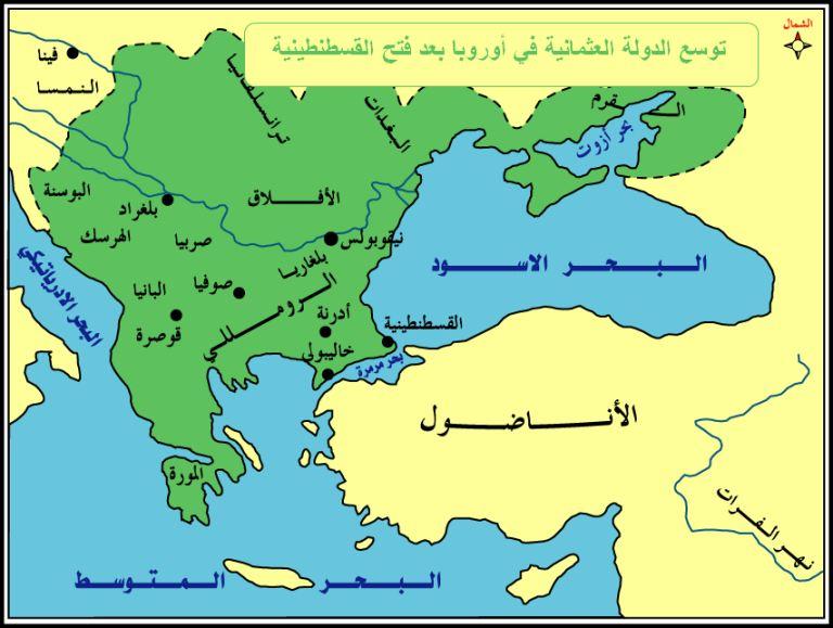 العثمانيون في أوربا