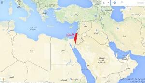 فلسطين في قلب الوطن العربي وجزء من قارة آسيا