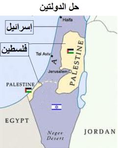حل الدولتين: دولة فلسطين ودولة إسرائيل