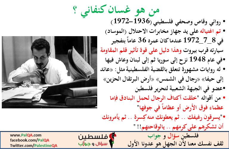 من هو غسان كنفاني؟