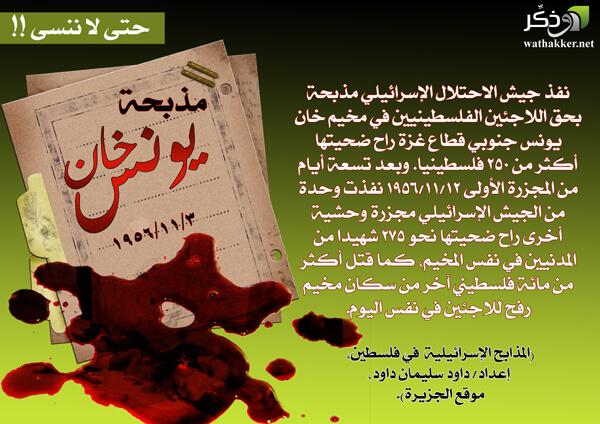 مذبحة خان يونس 1956