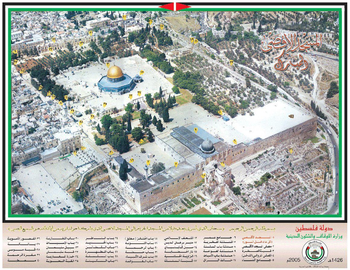 أهم المعالم في المسجد الأقصى
