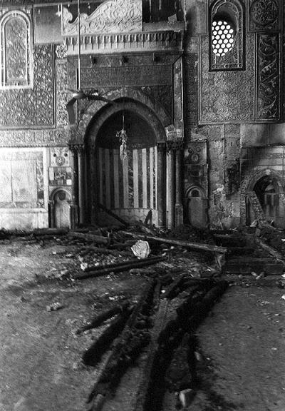 حريق 1969 دمر منبر صلاح الدين الأيوبي/نور الدين زنكي