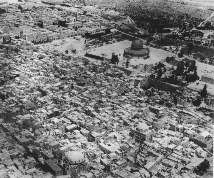 القدس القديمة في الماضي