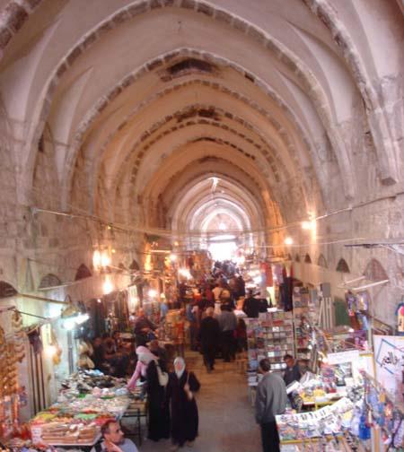 من أسواق القدس القديمة