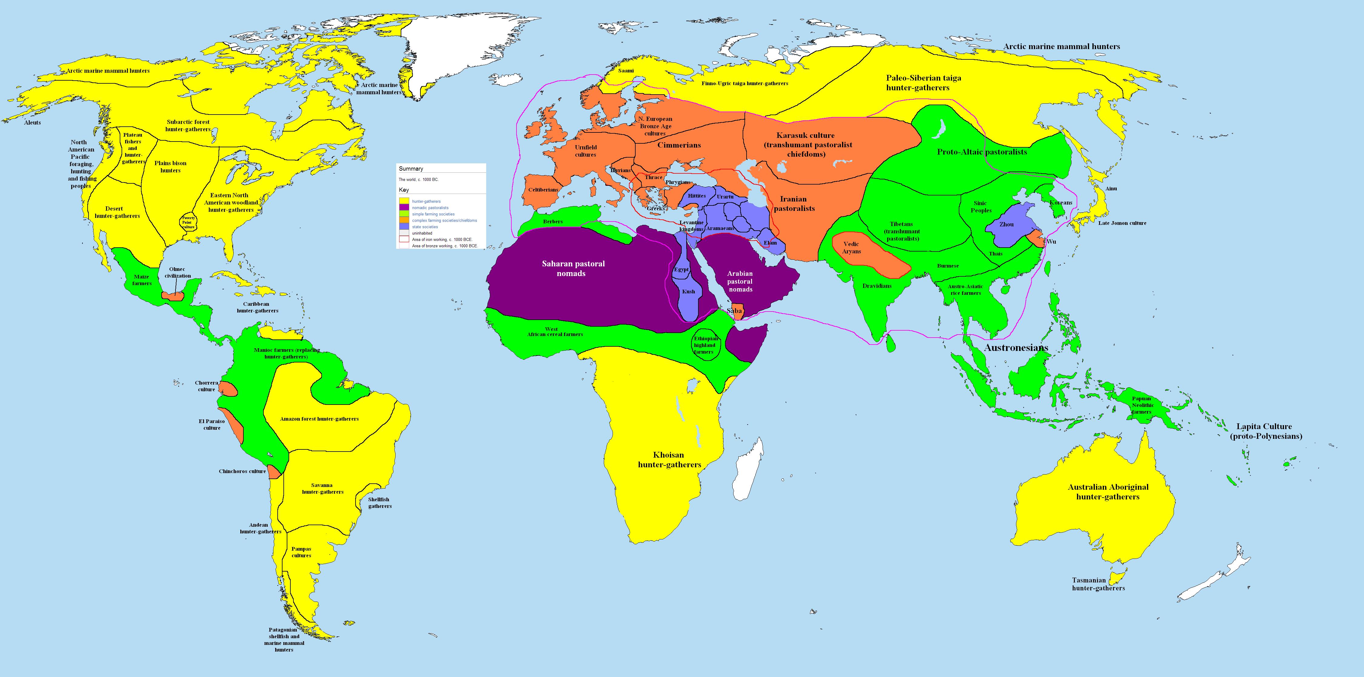 بعض الصور للعالم منذ عام 1000 قبل الميلاد. يمكن من خلالها تتبع بعض من تناوب على حكم فلسطين