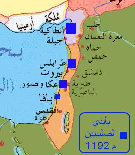تاريخ فلسطين | الحروب الصليبية: صمود القدس وفترة الهدنة وموت صلاح الدين الأيوبي