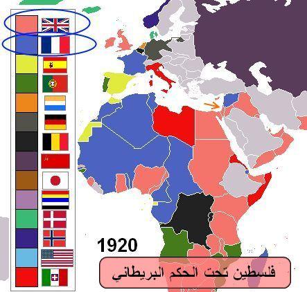 تاريخ فلسطين   انهيار الدولة العثمانية واحتلال بريطانيا لفلسطين إثر الحرب العالمية الأولى