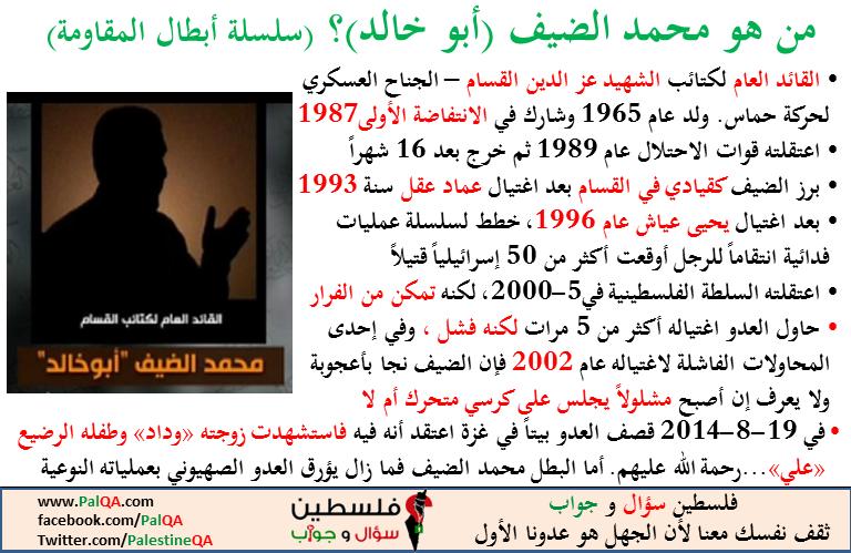 من هو محمد الضيف؟
